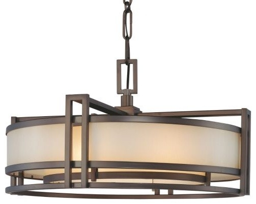 Underscore Drum Pendant contemporary pendant lighting
