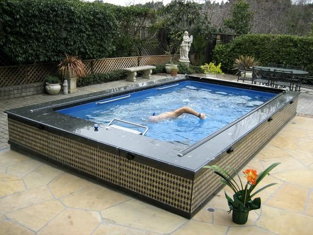 Original Endless Pools®, Backyard Pool mediterranean-hot-tub-and-pool-supplies
