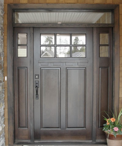 Mahogany line traditional front doors vancouver by for Traditional front doors