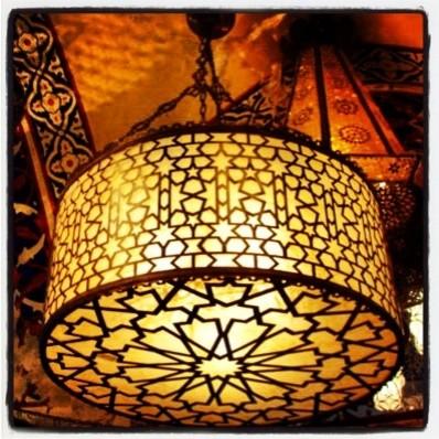 Ottomanlight rustic-hall