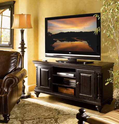 Harrington Media Console - Mediterranean - Entertainment Centers And Tv Stands - by ...