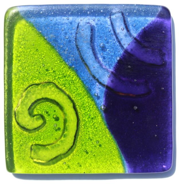 Glass tiles tile