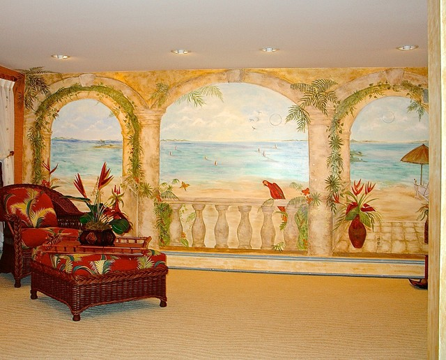Innovative Basement Remodeling in Northern New Jersey beach-style