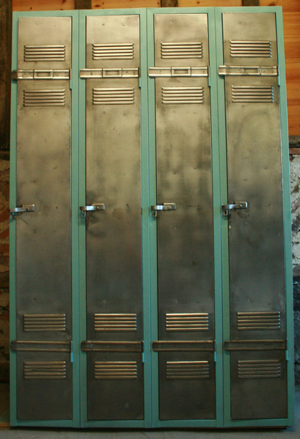 French Vintage Industrial Armoire/Locker by The Retro ...