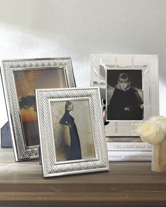 Lauren Ralph Lauren Equestrian Braid Frame, 5 x 7 traditional-picture-frames
