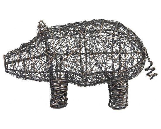 Mr. Moses Wire Pig | LazySusanUSA -