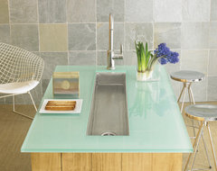 Rio Grande Bar & Prep Copper Sink by Native Trails modern kitchen sinks