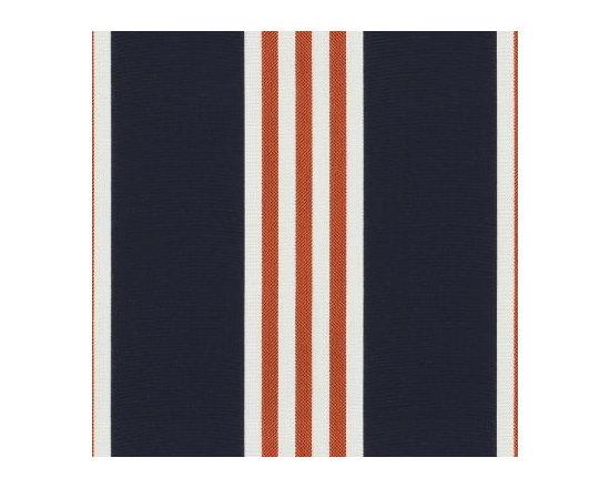 Nautical Striped Outdoor Fabric | Navy Stripe -