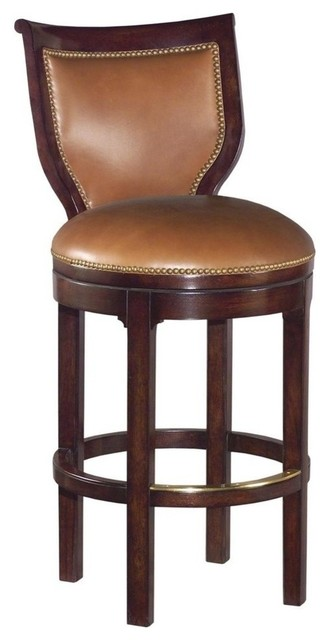New Armless Barstool Bar Stool Caramel Traditional Bar  : traditional bar stools and counter stools from www.houzz.com size 328 x 640 jpeg 34kB