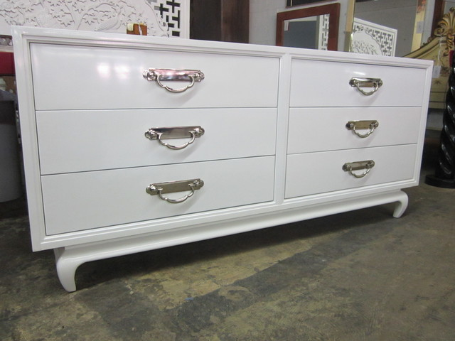 white lacquered asian dresser dressers chests and bedroom armoires