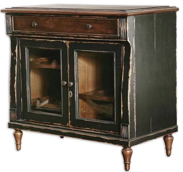 Meesha Wine Server traditional-wine-and-bar-cabinets