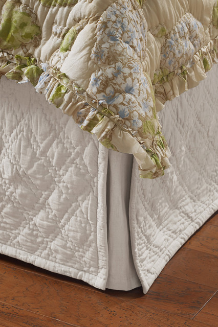 Diamond Quilted Bedskirt Bedskirts St Louis By Soft