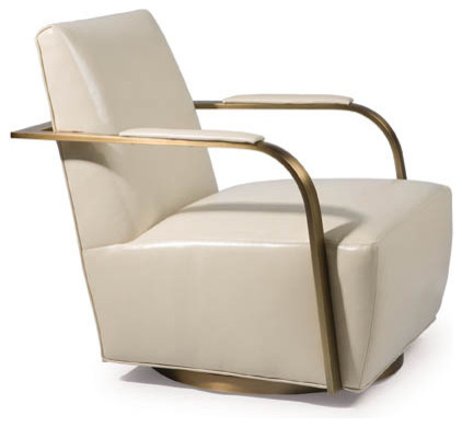 Zac Swivel Chair from Thayer Coggin contemporary-accent-chairs
