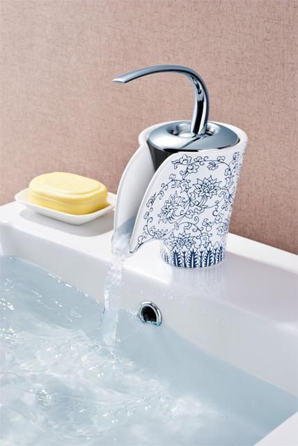 Perfect Porcelain Bathroom Fixtures Hot Cold Handles Soap Dish