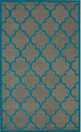 Fancy Grey Madeline Rug modern-rugs