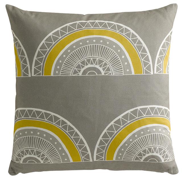 Cushion: Large Horseshoe Arch mediterranean-decorative-pillows