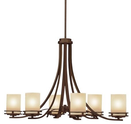 Kichler Hendrik Chandelier - 36W in. Olde Bronze contemporary-chandeliers