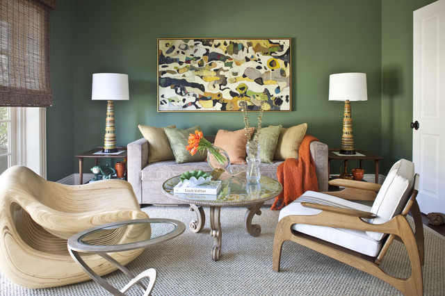 Beverly Hills Residence eclectic-living-room
