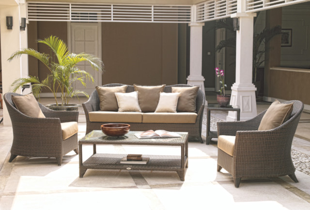 Malta wicker outdoor seating collection from skyline for Outdoor furniture malta