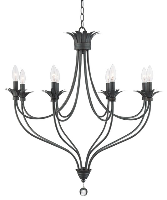 Iron Banyon 30 Quot Wide Oil Rubbed Bronze Chandelier