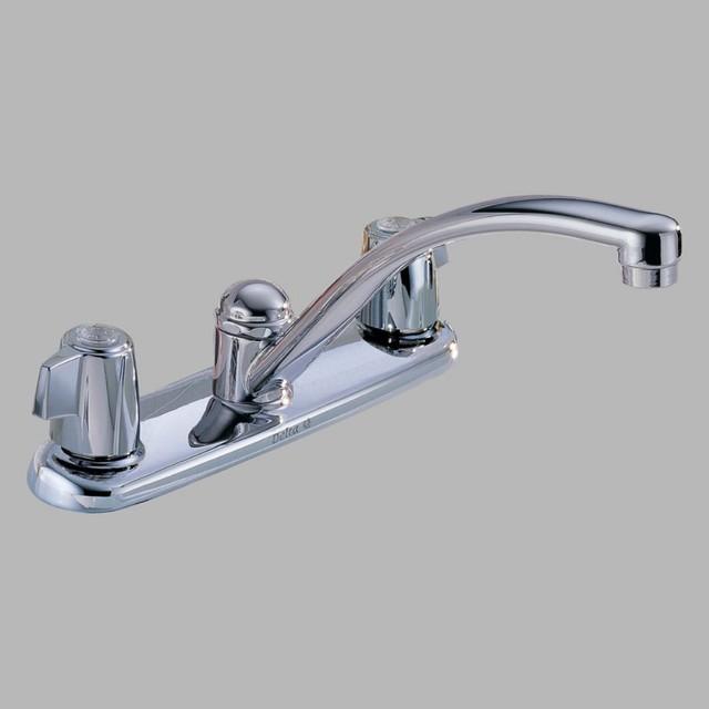 delta faucets kitchen on delta waterfall 174 pbwf