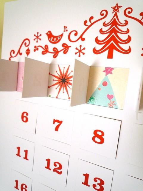 Advent Calendar Diy Template : Advent calendar diy template by nina max daly modern