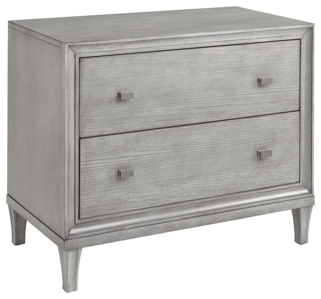 Presidio Nightstand by Bassett Furniture - Contemporary - Nightstands And Bedside Tables ...