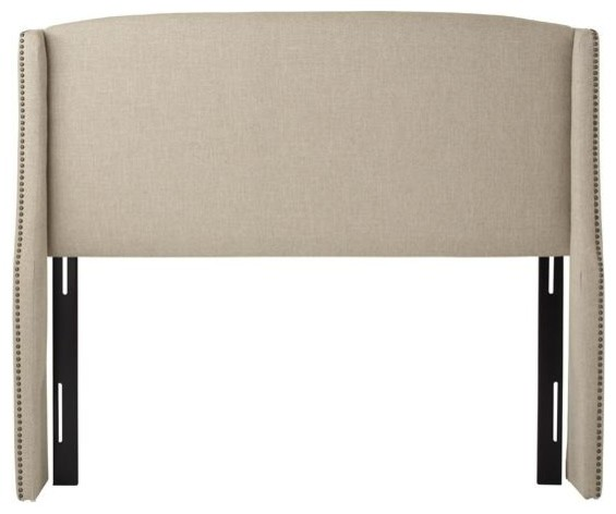Custom Covington Upholstered Headboard Traditional Headboards By Home Decorators Collection
