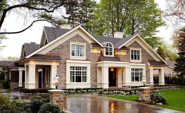 nice exterior stone work