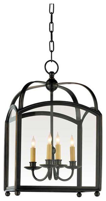 Arch Top Lantern traditional-pendant-lighting