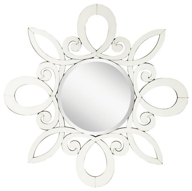 Kichler Lighting 78146 January Modern / Contemporary Round Wall Mirror contemporary-mirrors
