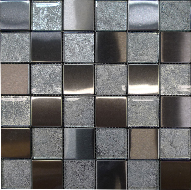 W30 Mix Material Tiles Contemporary Tile Los Angeles