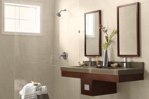 Wood Frame Mirror modern-home-decor
