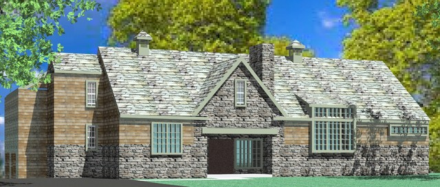 Chester Springs, PA Residence traditional-rendering