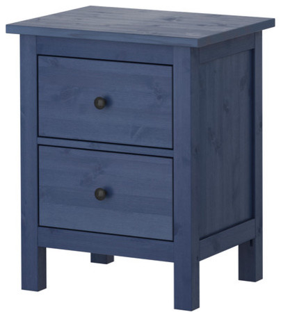 hemnes chest with 2 drawers blue scandinavian. Black Bedroom Furniture Sets. Home Design Ideas