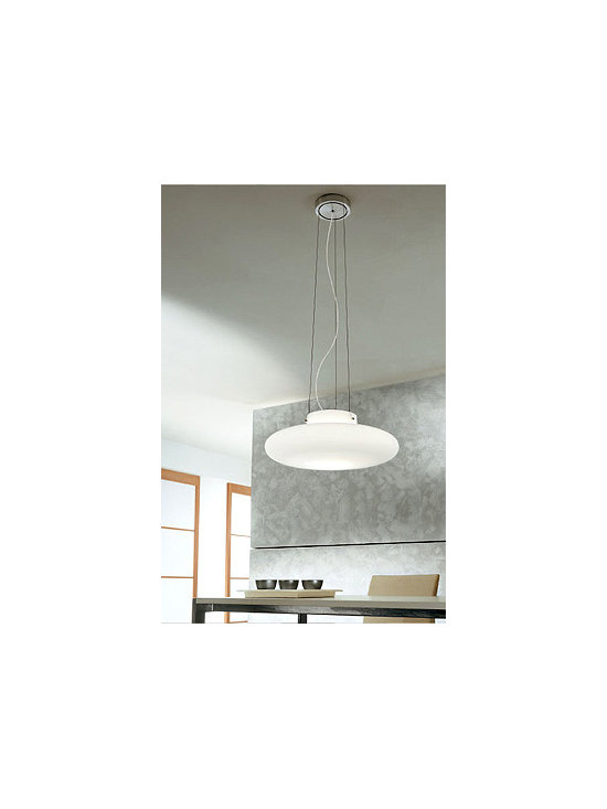 Mild S Pendant Lamp By Leucos Lighting - From Leucos the Mild series is a modern contemporary lamp.