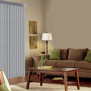 Levolor Vinyl Vertical Blinds: S-Curved Ironwork & Vinings contemporary-vertical-blinds