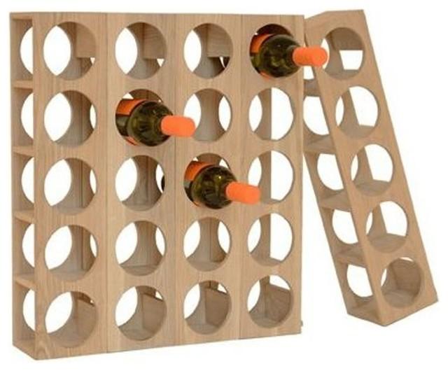 Plywood Wine Racks