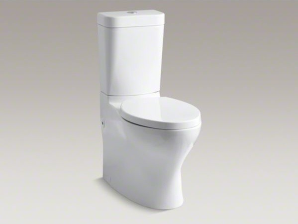 KOHLER Persuade(R) Circ Comfort Height(R) skirted two-piece elongated dual-flush contemporary-toilets