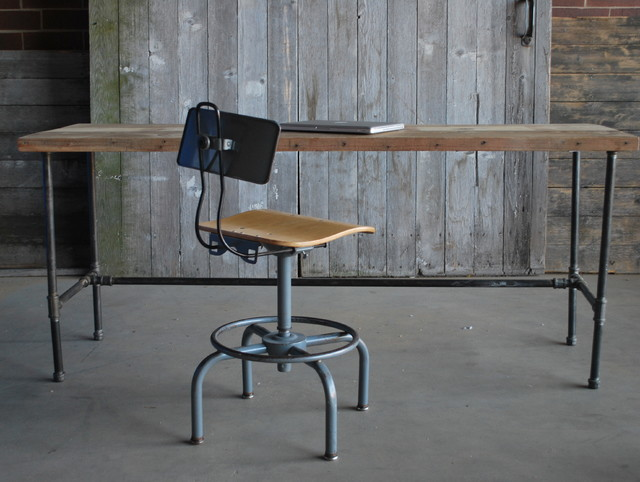 Reclaimed wood desks and home office furntiure - Reclaimed wood office desk ...