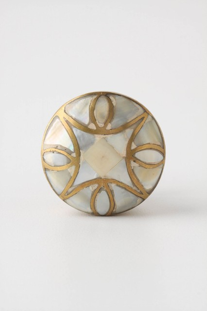 Mother-of-Pearl Knob  traditional knobs