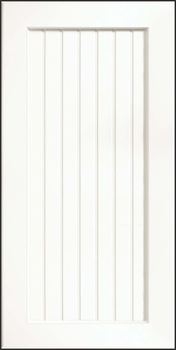 ... , Thermofoil, White - Contemporary - Kitchen Cabinetry - by KraftMaid