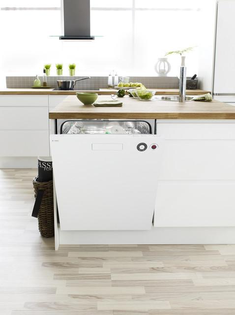 Asko Xxl Front Control Extra Tall Tub Dishwasher, White | D5434XXLW dishwashers
