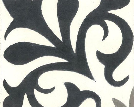 "In Stock Cement Tile - ""Nantes"" from Cement Tile Shop"