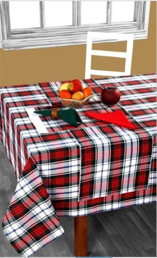 Christmas Macduff Tartan Table Runner modern table linens