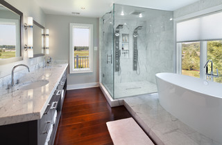 bathroom remodel can include flooring