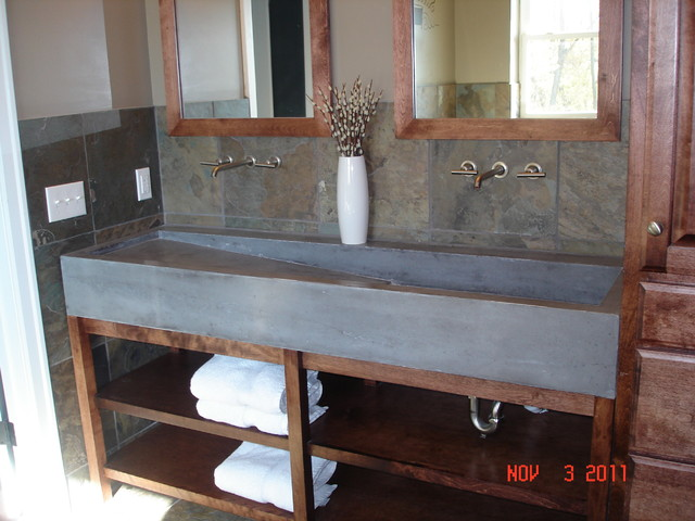 Similiar Concrete Trough Sinks Bathrooms Keywords – Trough Sinks for Bathrooms