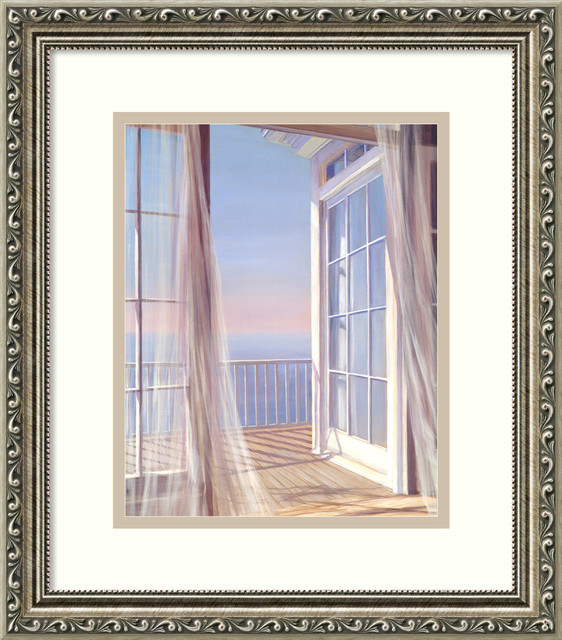 Sea Breeze I Framed Print by Carol Saxe traditional-prints-and-posters