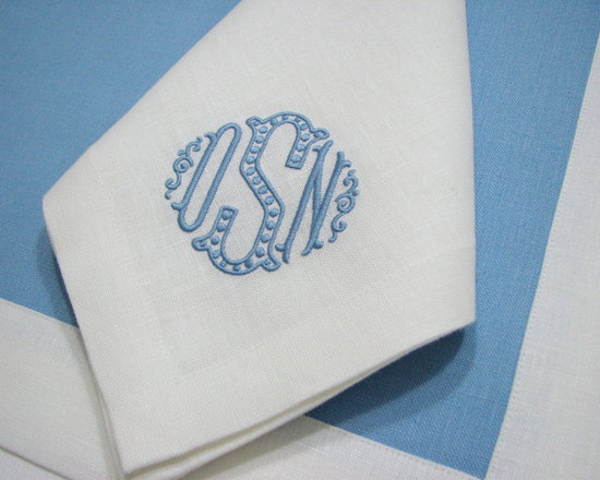 Retail Products - Best hand made napkins, will never shrink or stretch in the wrong direction, they are hand made from carefully cut linen. They have been carefully measured and sewn to perfection. Mitered corners. Regular Hem. Made in the US from imported Irish linen.
