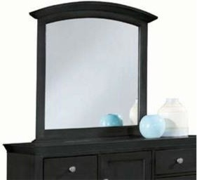 Vertical Mirror- Black - American Drew Sterling Pointe Collection 181-050B traditional-makeup-mirrors